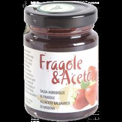 Salsa agrodolce fragole e aceto